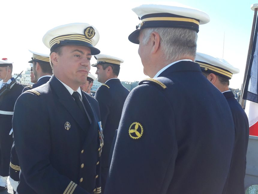 Marc Coicaud a assuré le commandement du Cormoran pendant un an