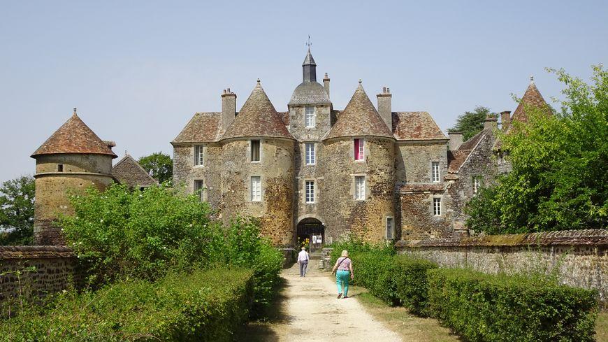 Le château de Ratilly est situé à Treigny.