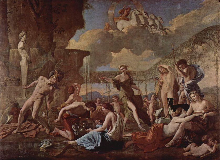 L'empire de Flore, Poussin (1594-1665