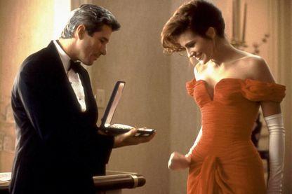 """Richard Gere et Julia Roberts dans """"Pretty Woman"""", un film de Gary Garry Marshall"""