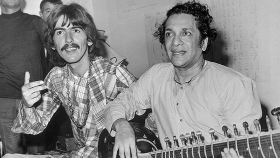 George Harrison et Ravi Shankar © Getty Images