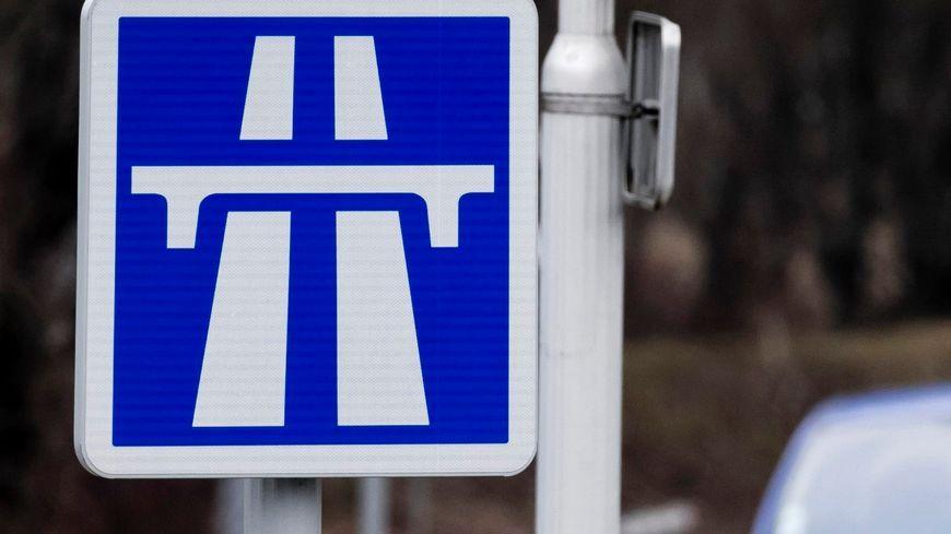 Panneau d'autoroute (photo d'illustration)