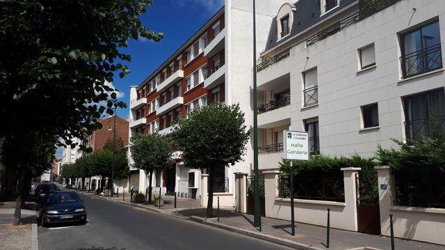 La résidence HLM de La Garenne-Colombes où habite Elodie et ses deux enfants