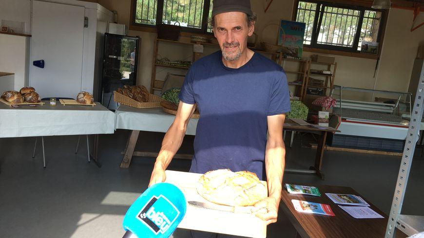 Olivier, agriculteur, éleveur à la Bergerie de Villarceaux