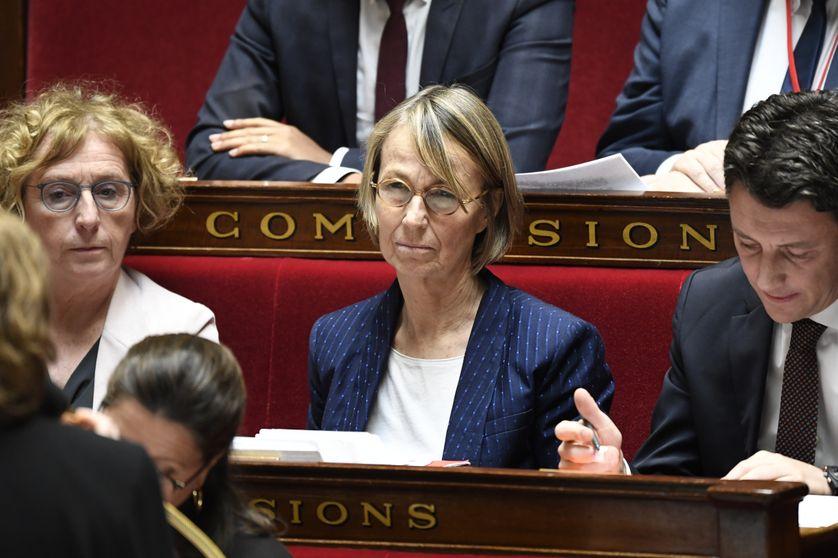 La ministre de la Culture Françoise Nyssen à l'Assemblée