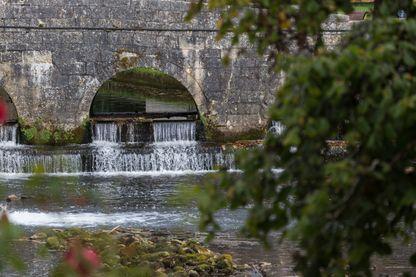La rivière Dronne à Brantôme