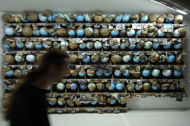 L'oeuvre fait partie de la collection du Centre Pompidou