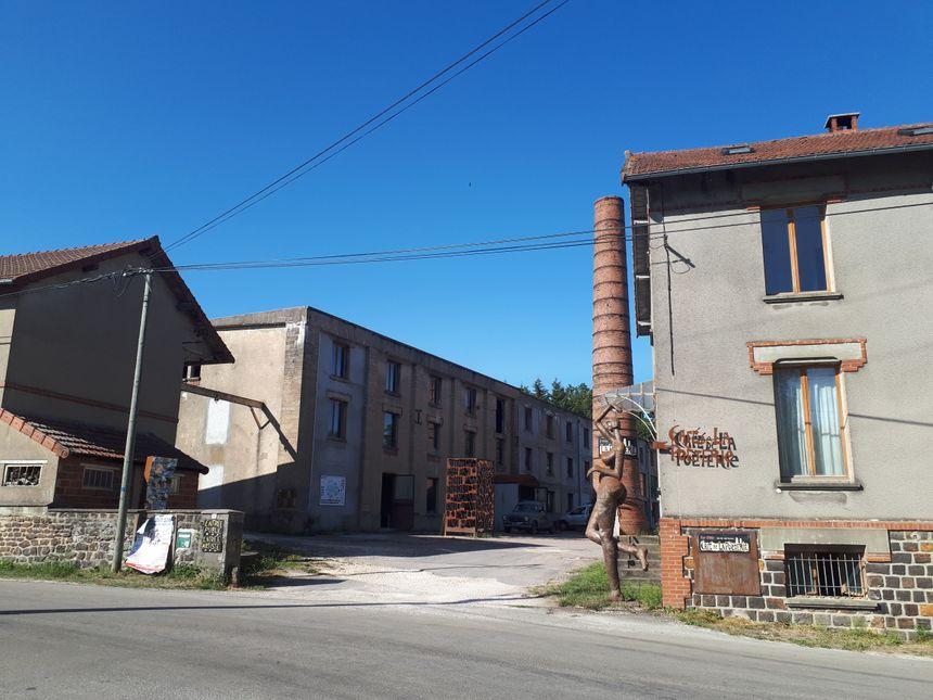 L'ancien site industriel vit une deuxième vie grâce aux artistes.