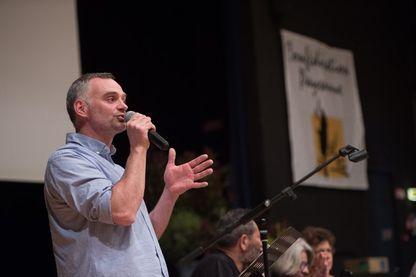 Laurent Pinatel, porte-parole de la Confédération paysanne