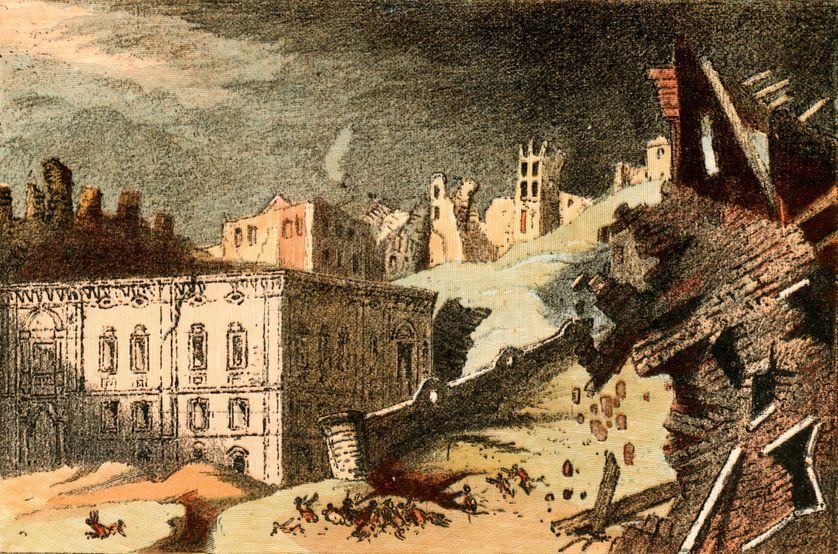 Le grand séisme de Lisbonne