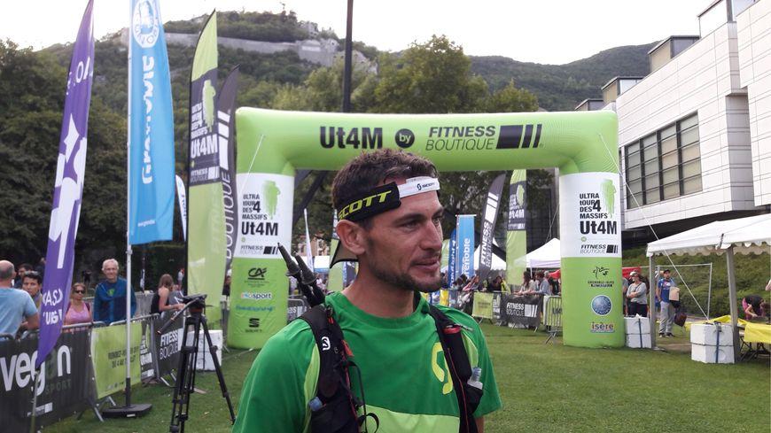 Lucien Loyer, le vainqueur de l'épreuve reine de la sixième édition de l'UT4M