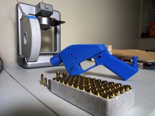 Une arme imprimée en 3D