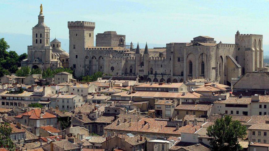 Vue générale d'Avignon.