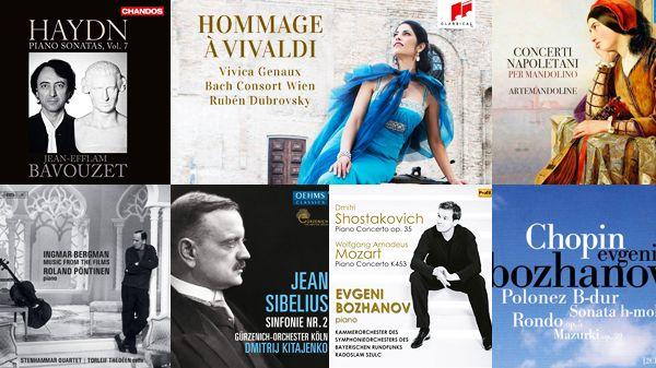 Actualité du disque : Vivaldi, Chopin, Schumann...