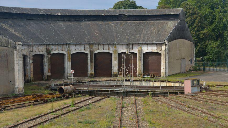 La rotonde ferroviaire de Montabon, à Montval-sur-Loir