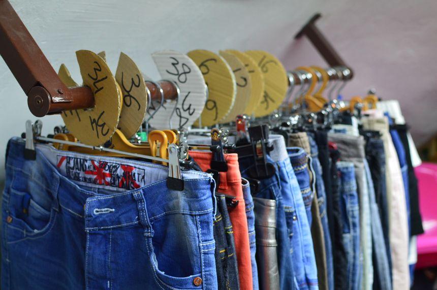 500 kilos de vêtements ont été récupérés.