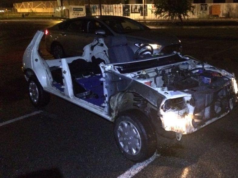 Le conducteur âgé de 16 ans a refusé le contrôle de police et a accéléré