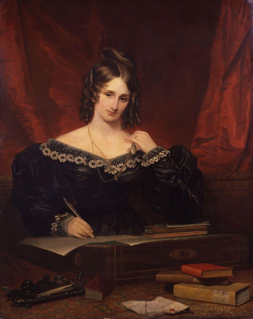 Mary Shelley, 1831, par Samuel John Stump (1778-1863)