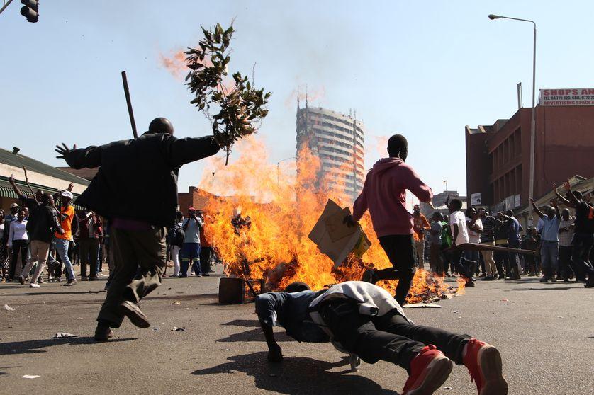 Incidents à Harare ce mercredi après l'annonce des premiers résultats