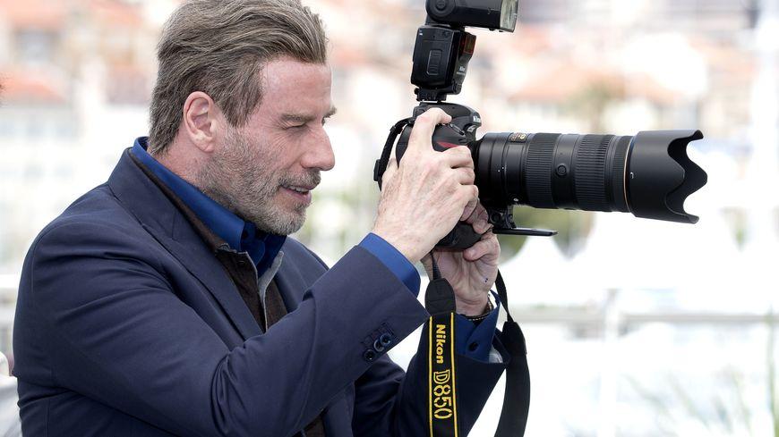 John Travolta à Cannes en mai 2018