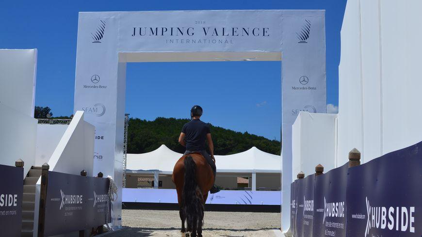 Au Jumping international de Valence, à Ratières, dans la Drôme.