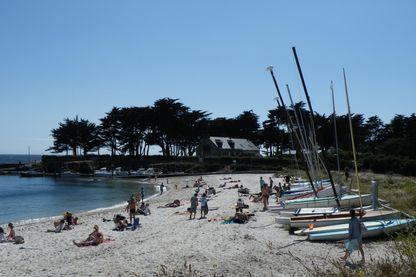 La plage Lérat à Piriac-sur-Mer
