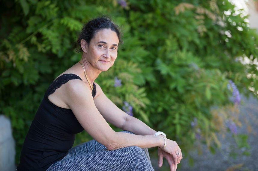 Myriam Grandmottet, la nouvelle présidente de l'association du festival.