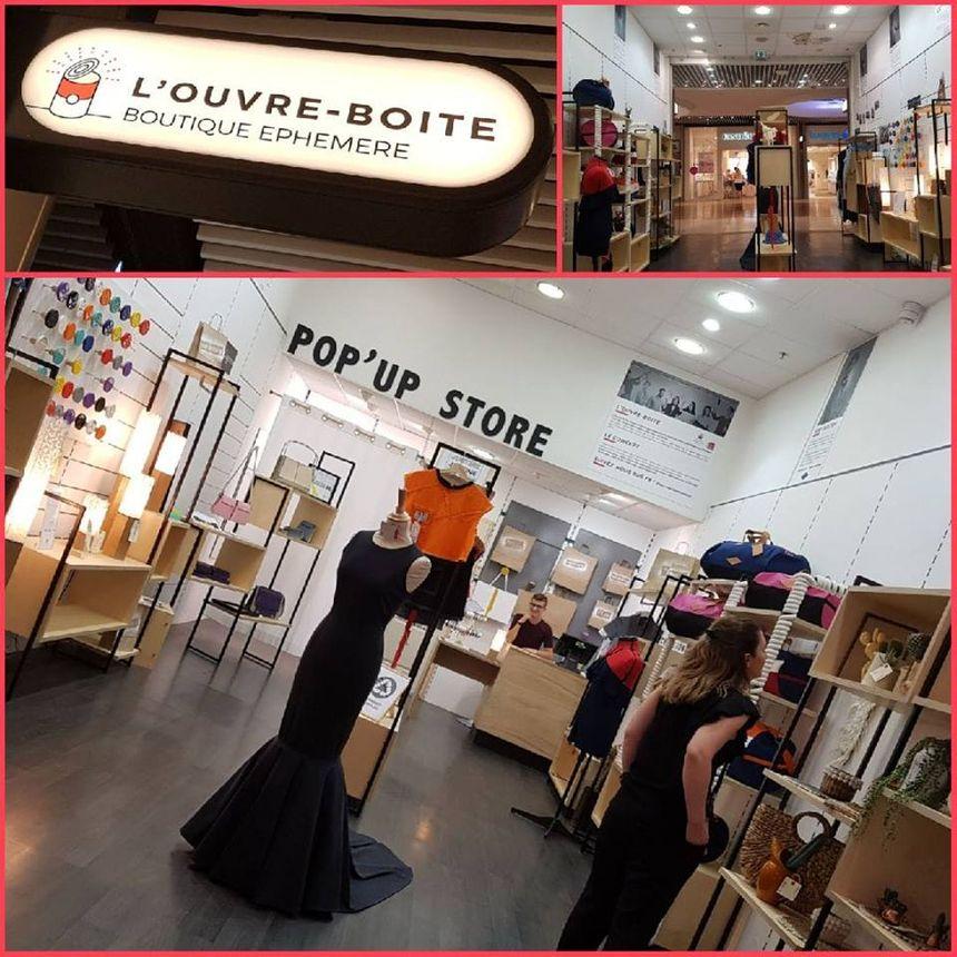 L'ouvre boite à Cap 3000 : une boutique mise à disposition de jeunes créateurs pendant 6 mois