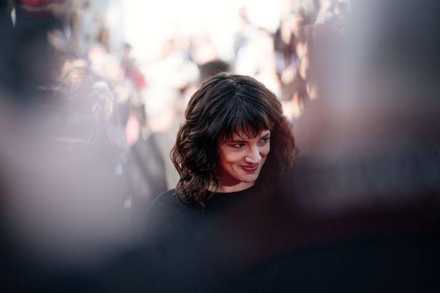Asia Argento lors du Festival de Cannes en mai 2018