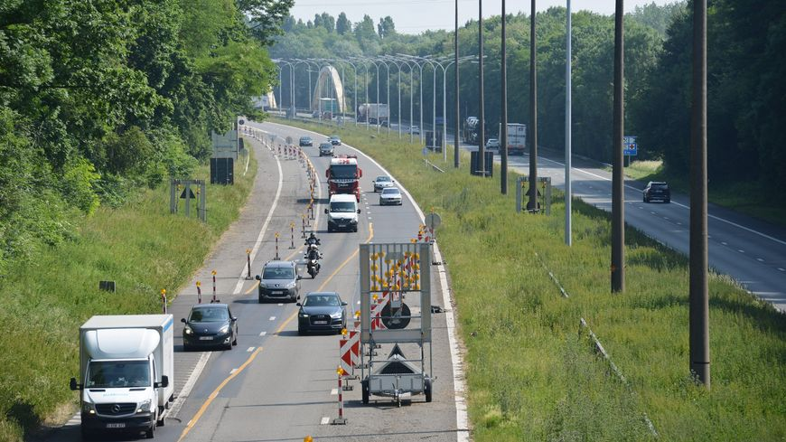 3 kms de chaussée vont être rénovés entre les échangeurs Lens Nord et Lens Centre