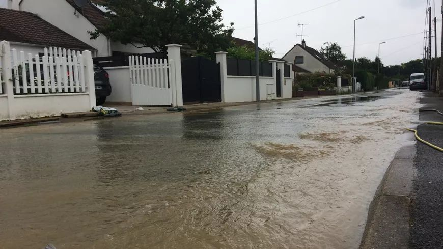 inondations en Ile-de-France en juin 2018