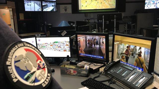 La police des transports de Paris