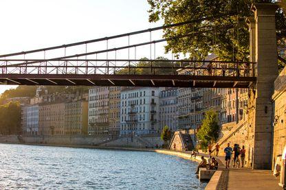 Quais de Saône, 7 septembre 2016, Lyon, France
