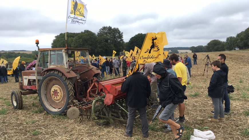 L'action avait lieu sur une exploitation de Clion-sur-Indre, au Lieu-Dit Le Grand Mée