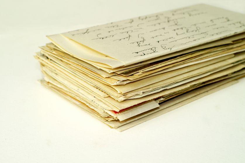 Des lettres anciennes