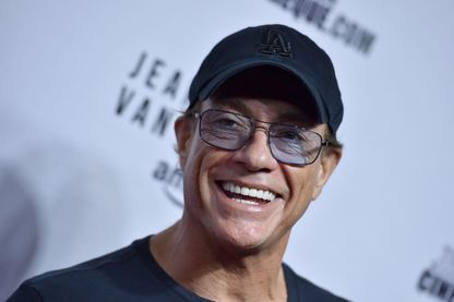 Jean-Claude Van Damme à l'Egyptian Theatre le 9 octobre 2017 à Los Angeles, en Californie