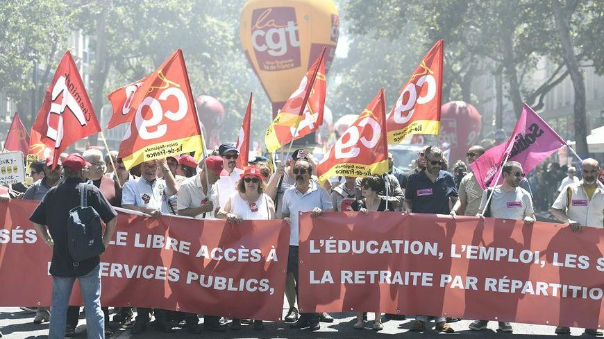 448b42ddafe Les syndicats appellent à la mobilisation le 9 octobre contre la ...
