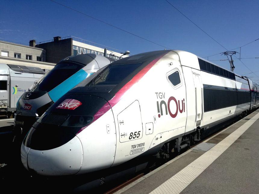 La nouvelle rame Océane circule déjà sur les axes Paris-Bordeaux, Paris-Rennes et Paris-Nantes