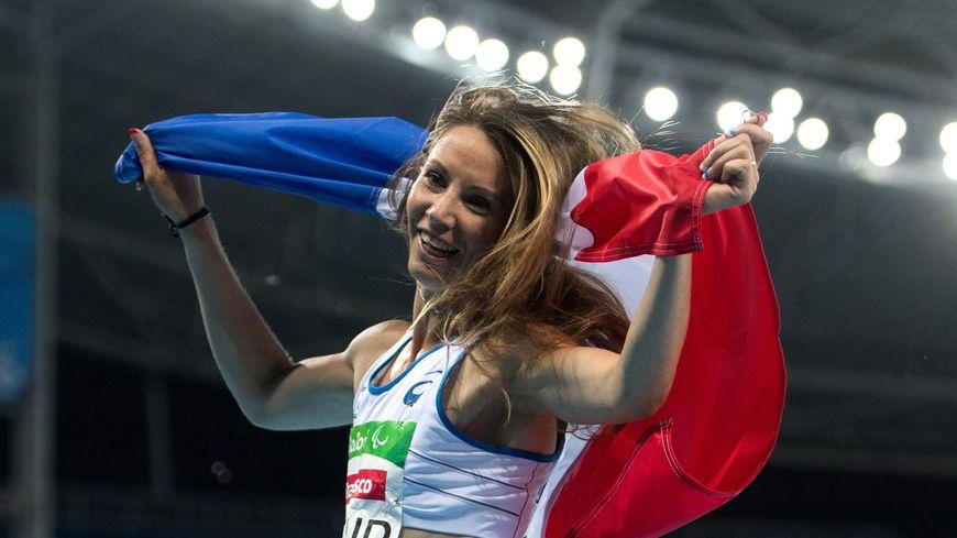 Marie-Amélie Le Fur à Rio, en 2016.
