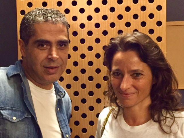 Tewfik Hakem et Nina Bouraoui