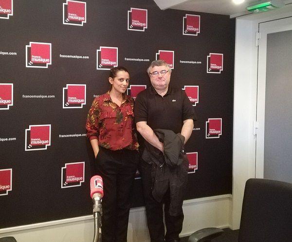 Vincent Coq et Gabrielle Oliveira Guyon