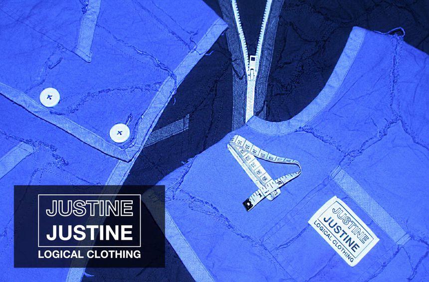 Logo, confection,... tout y est ! Les vêtements sont fabriqués à partir d'éléments de tissus récupérés dans les poubelles