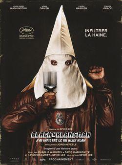 BlacKkKlansman - J'ai infiltré le Ku Klux Klan : Affiche