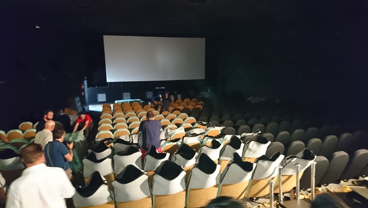 """VIDEO - Visite guidée du """"Klub"""", le nouveau cinéma de Metz"""