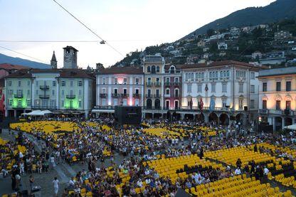 Une vue générale du festival de Locarno.