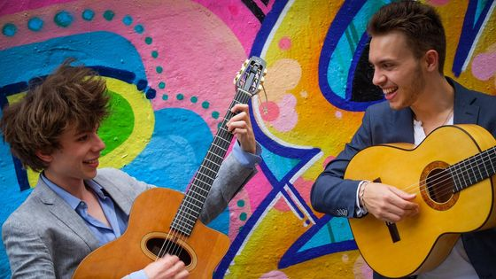 Antoine Boyer et Samuelito