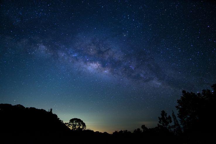 La Voie Lactée, observée depuis un parc national.