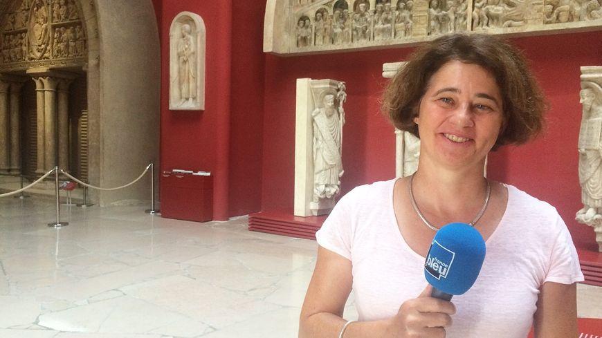 Corinne Belier, Directrice du Musée.