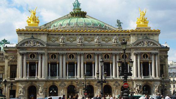 L'Opéra Garnier à Paris