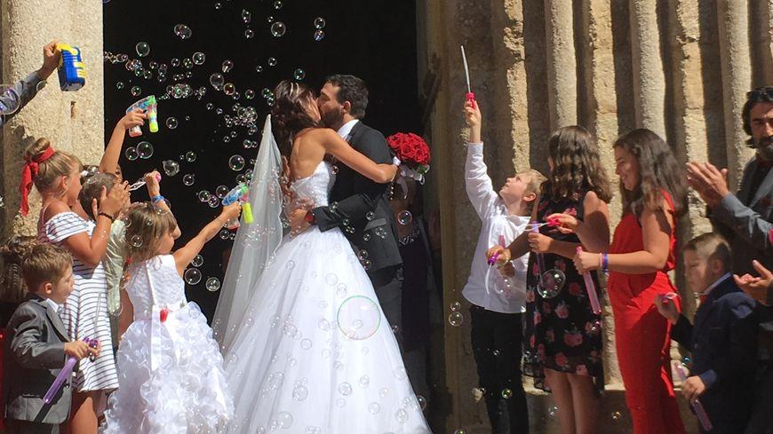 Un mariage plein d\u0027émotions pour Sophie Vouzelaud, l\u0027ancienne Miss Limousin,
